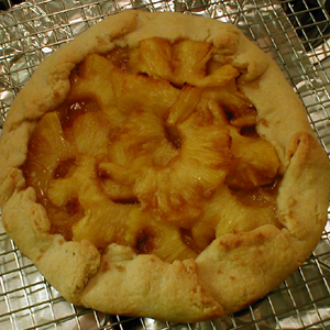 galette after baking